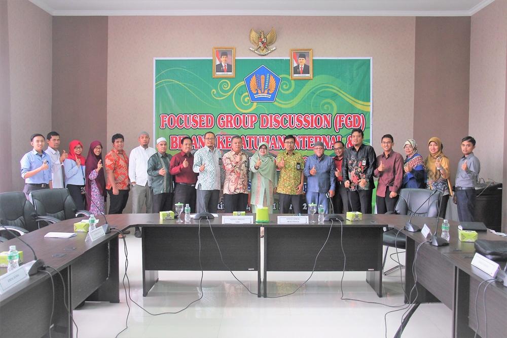 KPKNL Bukittinggi Sebagai Tuan Rumah FGD Bidang KIHI Se-Kanwil DJKN RSK