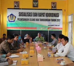 Tingkatkan Frekuensi dan Hasil Lelang Hak Tanggungan, KPKNL Singkawang adakan Rapat dengan para Pemohon Lelang Hak Tanggungan/Perbankan