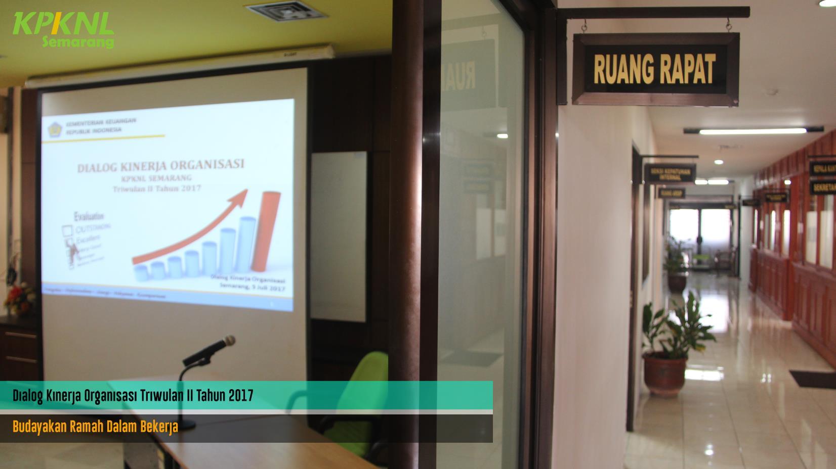 DKO Triwulan II - Budayakan Ramah Dalam Bekerja