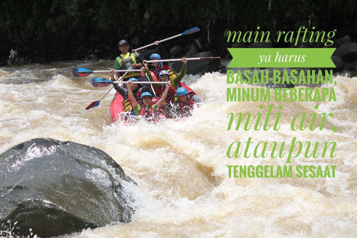 Rafting Kali Progo, Pacu Adrenalin Pecahkan Rutinitas Pekerjaan