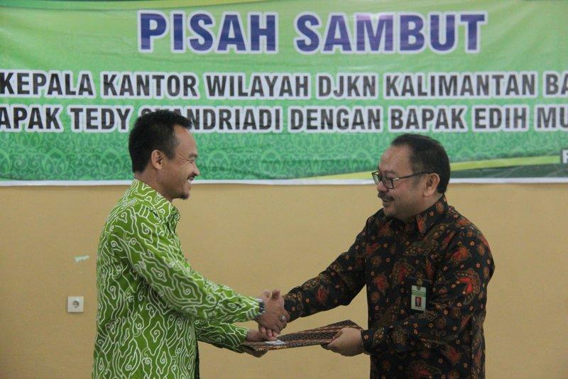 Serah Terima Jabatan Kepala Kanwil DJKN Kalimantan Barat