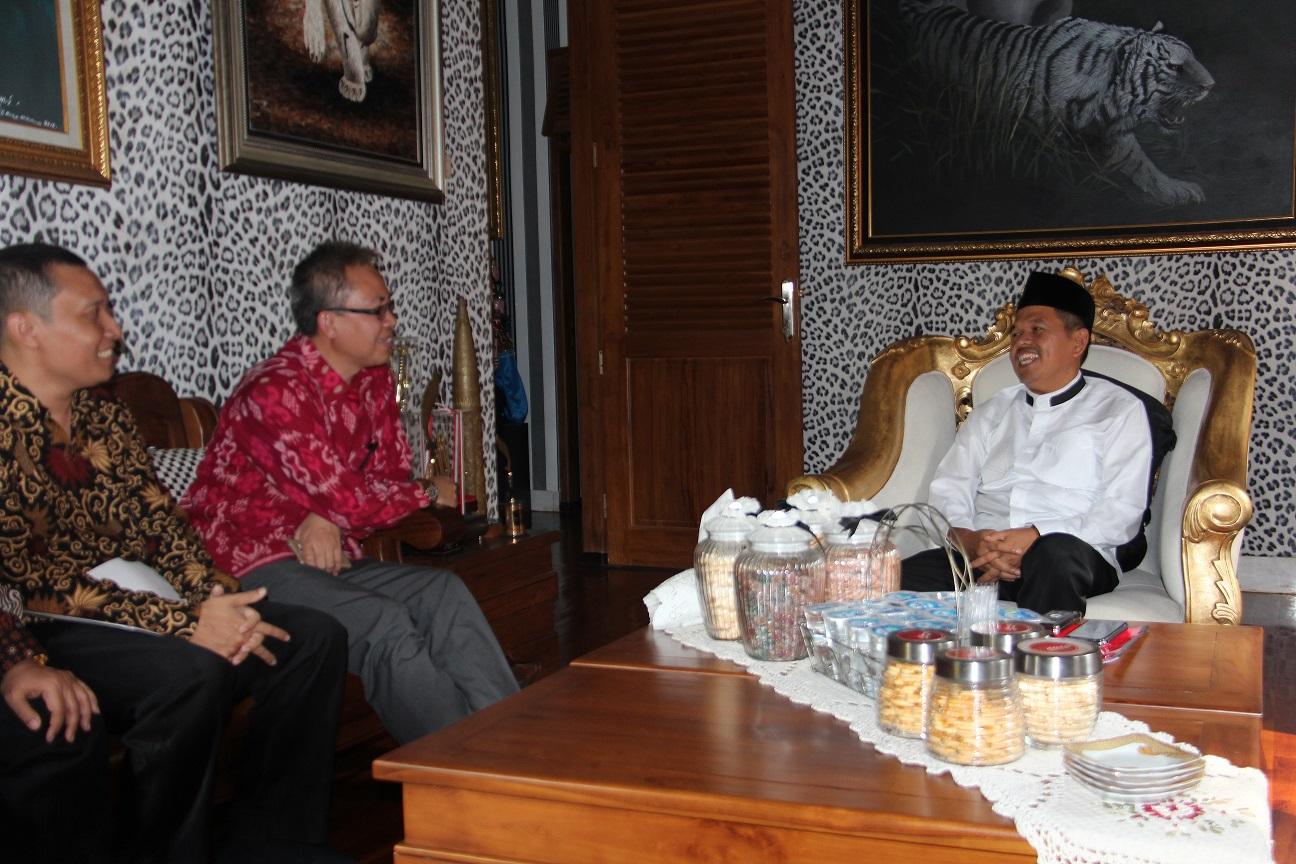 Kepala KPKNL Purwakarta Melakukan Kunjungan Kerja dan Silaturrahim ke Kantor Bupati Purwakarta
