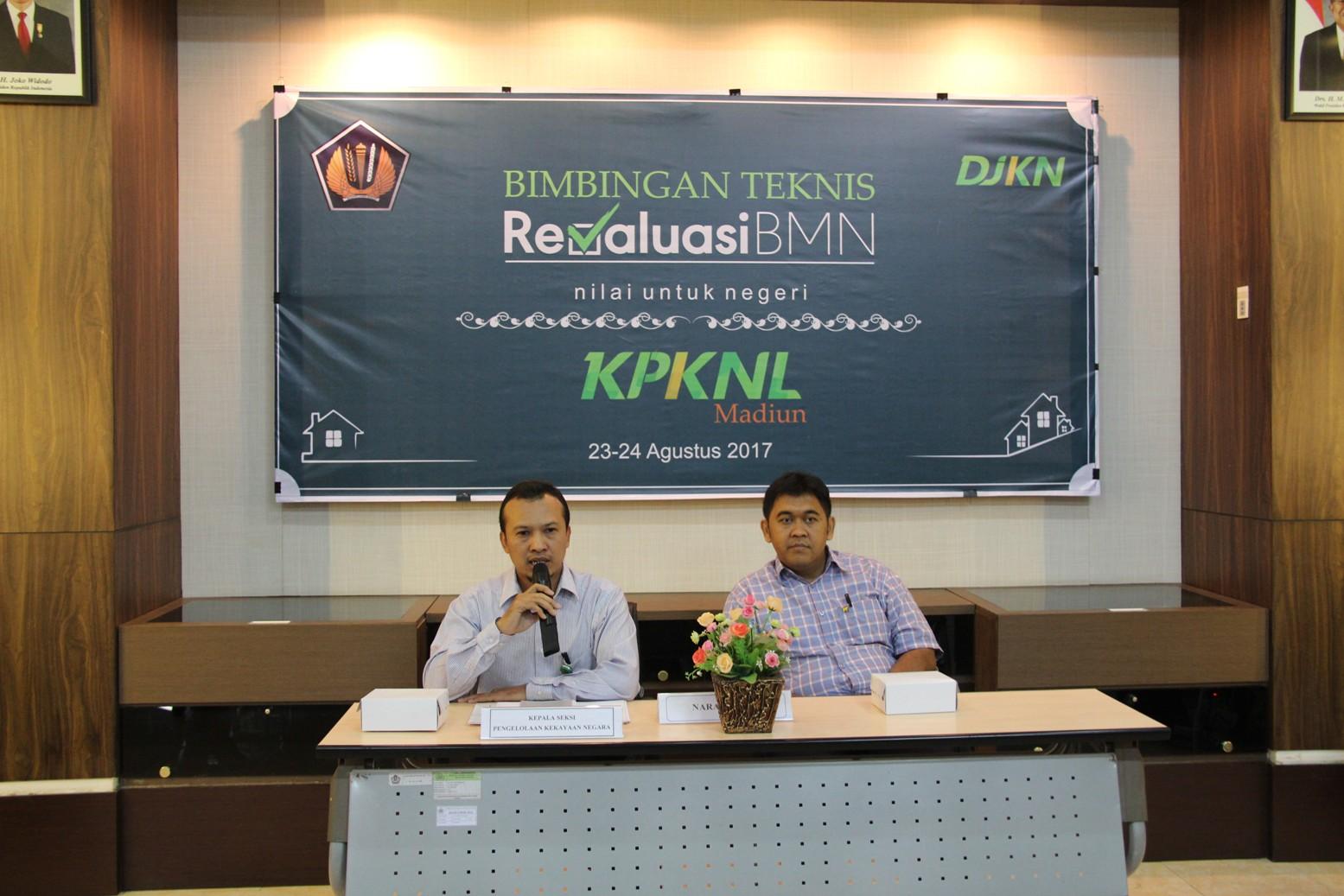 Semangat KPKNL Madiun Menyambut Pelaksanaan Revaluasi BMN 2017