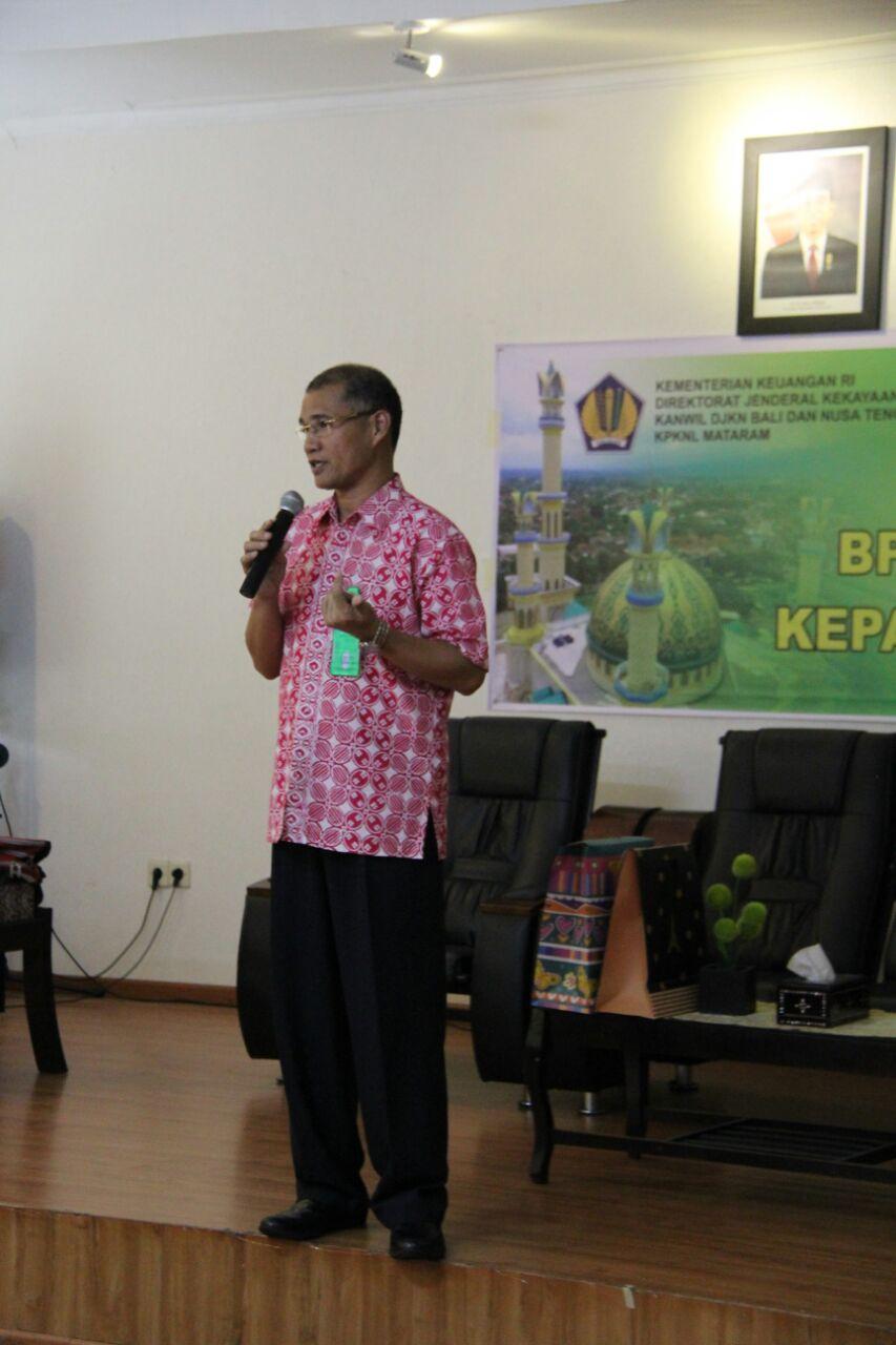 Perpisahan Kepala KPKNL Mataram