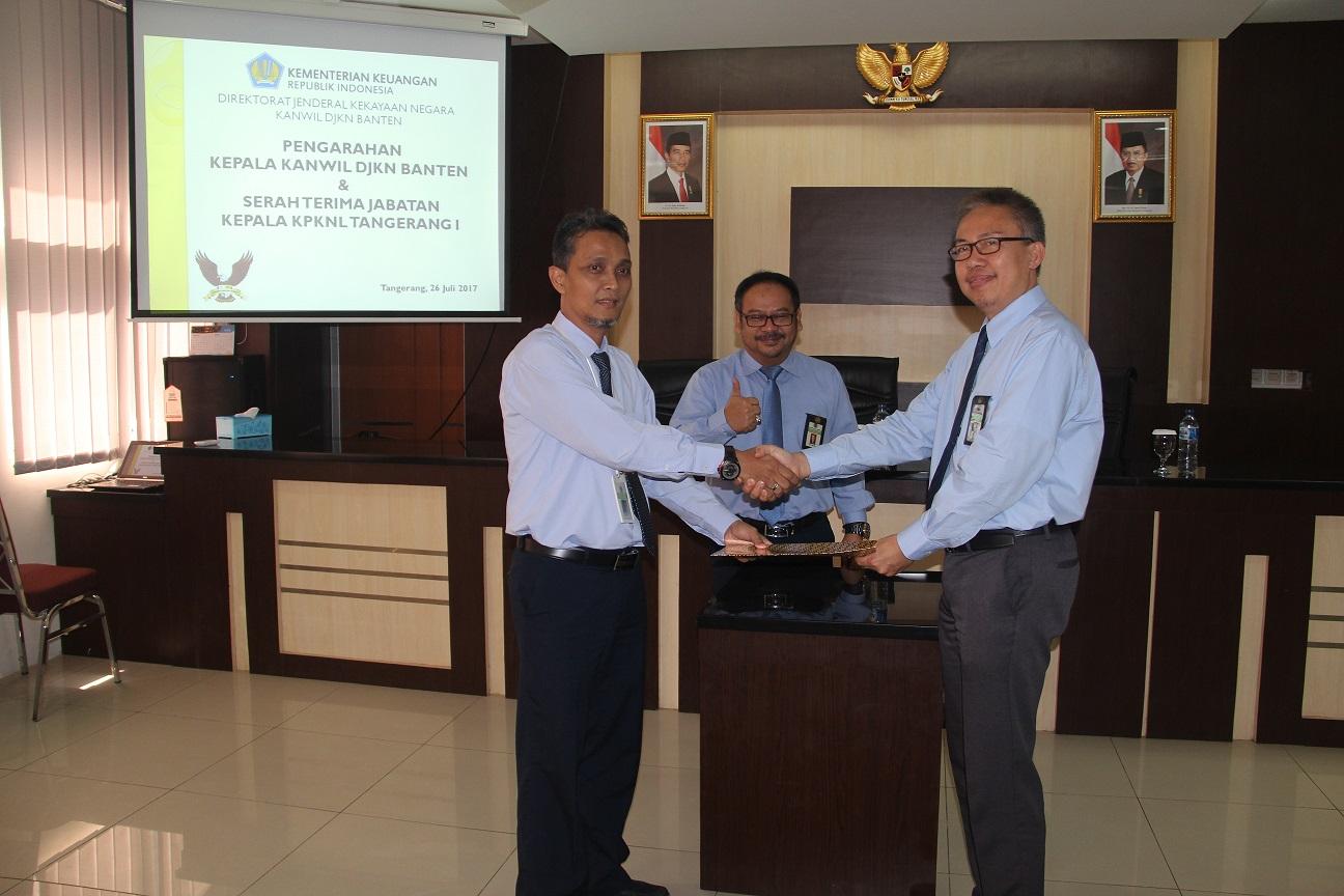 Serah Terima Jabatan Kepala KPKNL Tangerang I