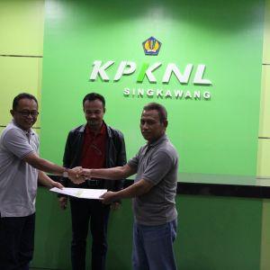 Serah Terima Jabatan dan Pisah Sambut Kepala KPKNL Singkawang