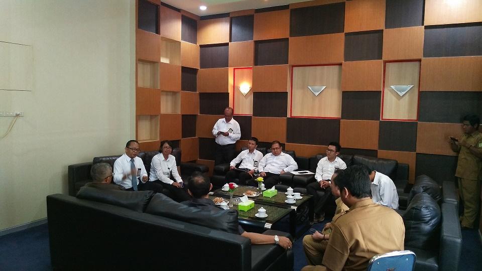 Kunjungan Kerja Kepala KPKNL Singkawang ke Pemerintah Daerah Kabupaten Sambas