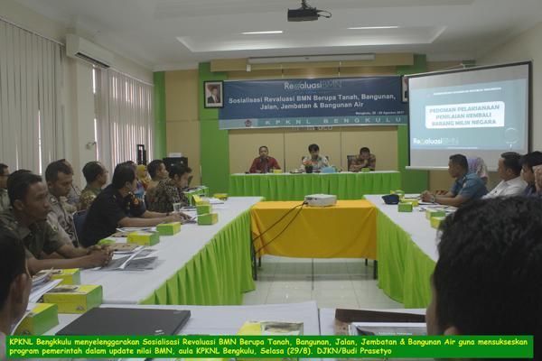 KPKNL Siap Kerja Bersama Kementerian/Lembaga Laksanakan Revaluasi Aset