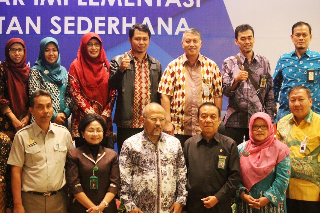 Kepala Kanwil DJKN Jatim Hadiri Seminar Implementasi Gugatan Sederhana