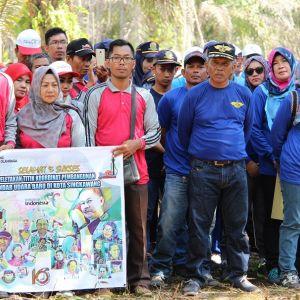 KPKNL Singkawang Hadiri Acara Peletakan Batu Pertama Bandar Udara Singkawang