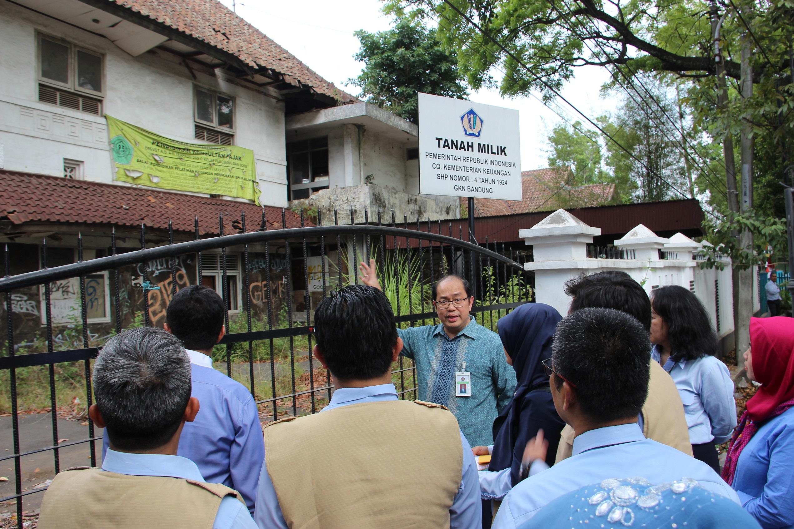Dirjen Kekayaan Negara Pantau Langsung Pelaksanaan Revaluasi BMN pada KPKNL Bandung