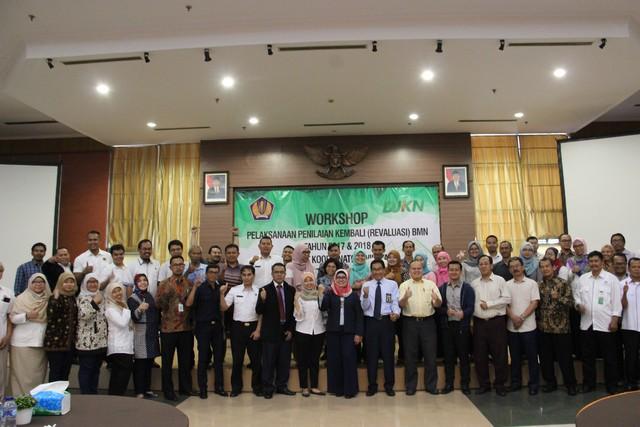 Workshop Pelaksanaan Revaluasi BMN Tahun 2017 dan Tahun 2018 Korwil Kanwil DJKN Jawa Barat