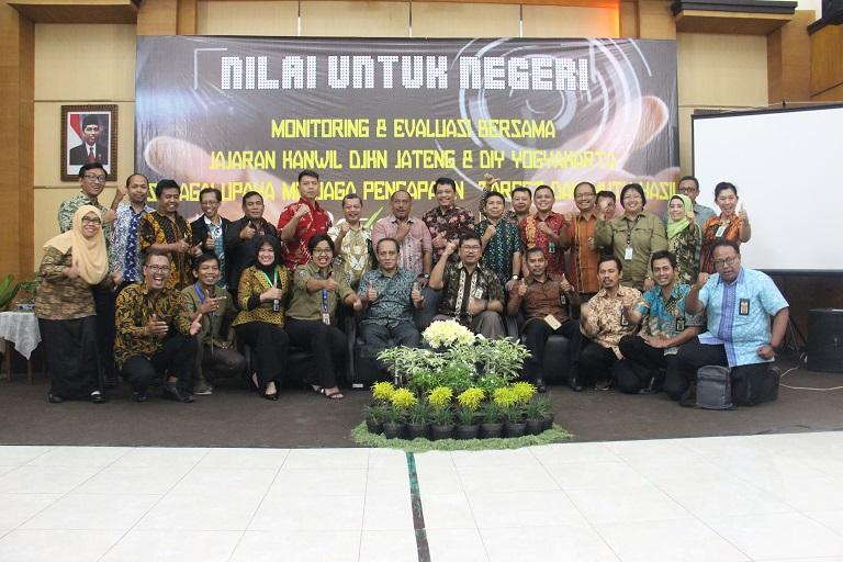 Kakanwil Jateng Dan DIY: Kerja Bareng Tuntas Bareng!