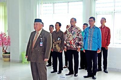 Ketua PUPN Cabang Bangka Belitung Lantik Anggota PUPN Unsur Pemda
