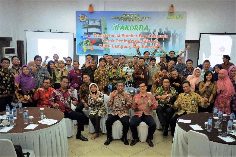 Menciptakan Soliditas DJKN Lampung dan Bengkulu Untuk Optimalisasi Kinerja