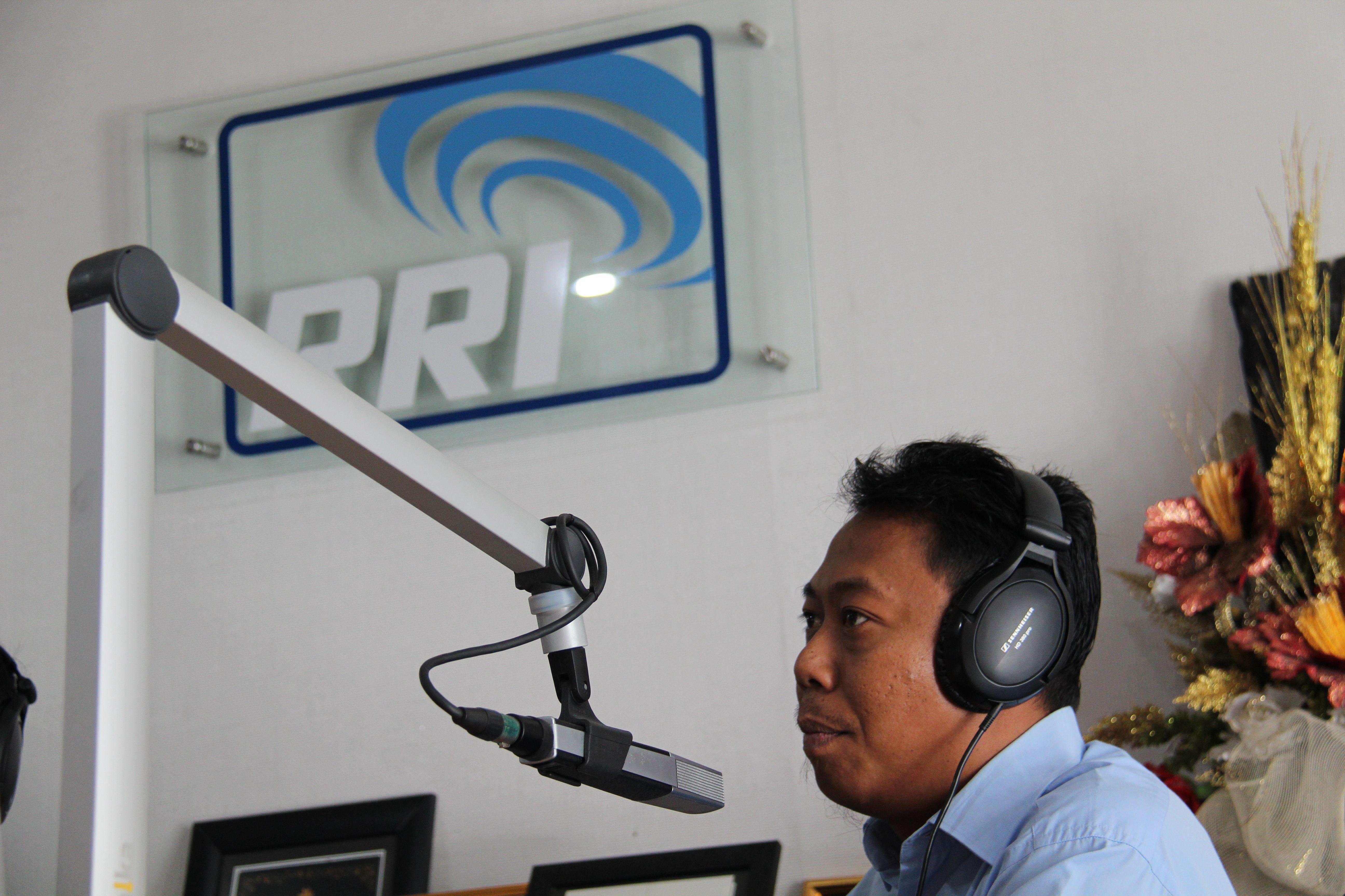 KPKNL Ternate Mengudara di RRI Ternate