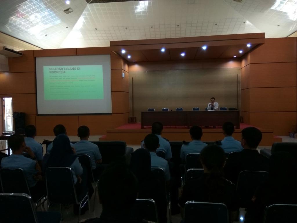 KPKNL Batam Berbagi Pengetahuan Lelang Untuk Pegawai KPU BC Batam