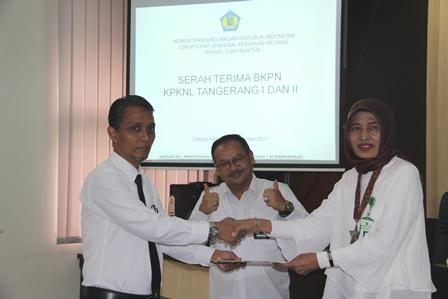 Serah Terima BKPN KPKNL Tangerang I dan KPKNL Tangerang II