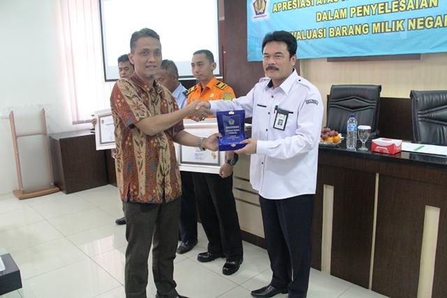 Revaluasi BMN Selesai, KPKNL Tangerang I Beri Apresiasi Satker