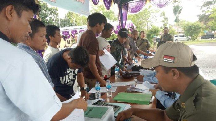 Animo Peserta Lelang Inventaris Pemerintah Kabupaten Bangka Barat Membludak
