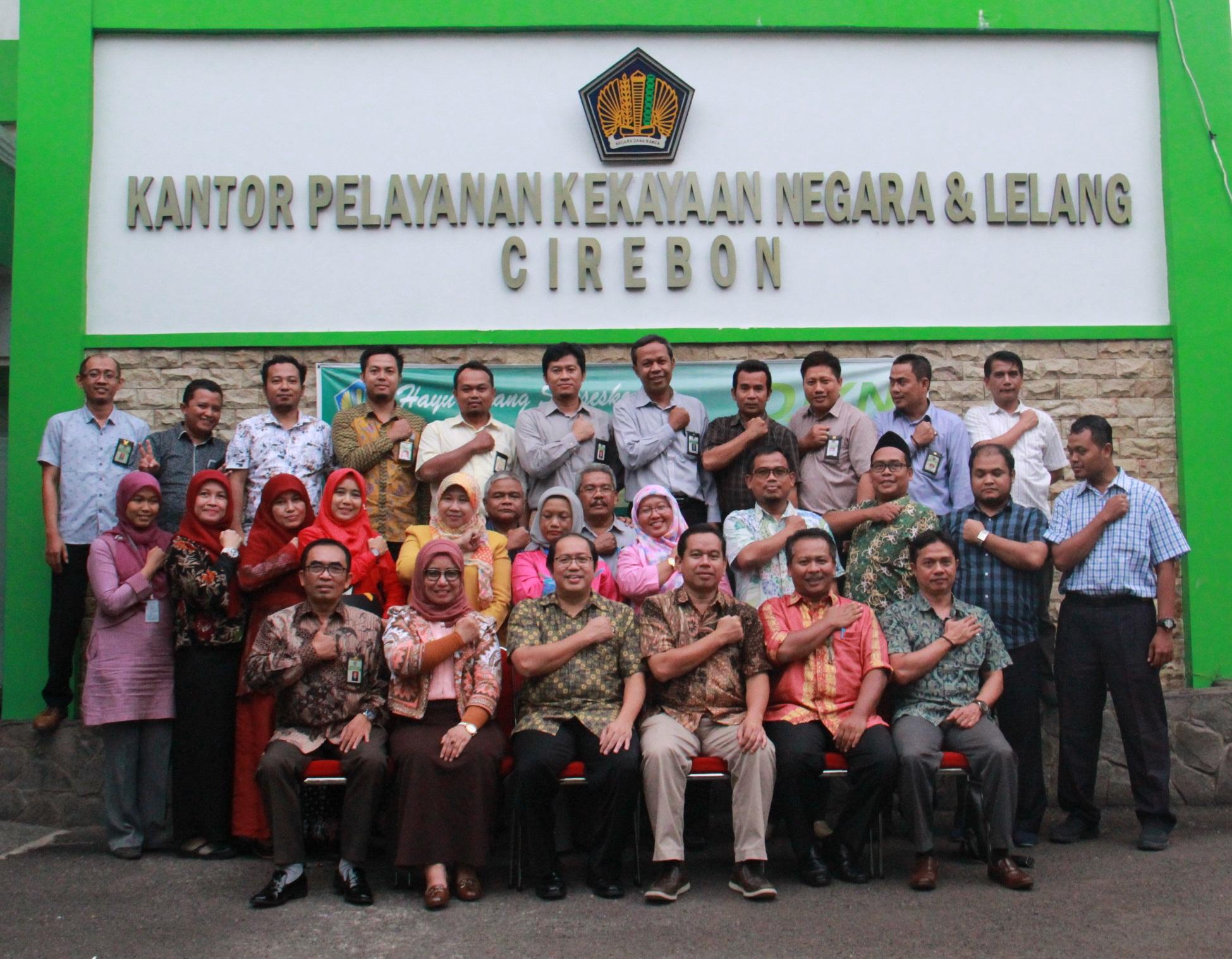 Kunjungan Direktur Jenderal Kekayaan Negara, Sesditjen, Direktur PKNSI dan Kakanwil Jabar