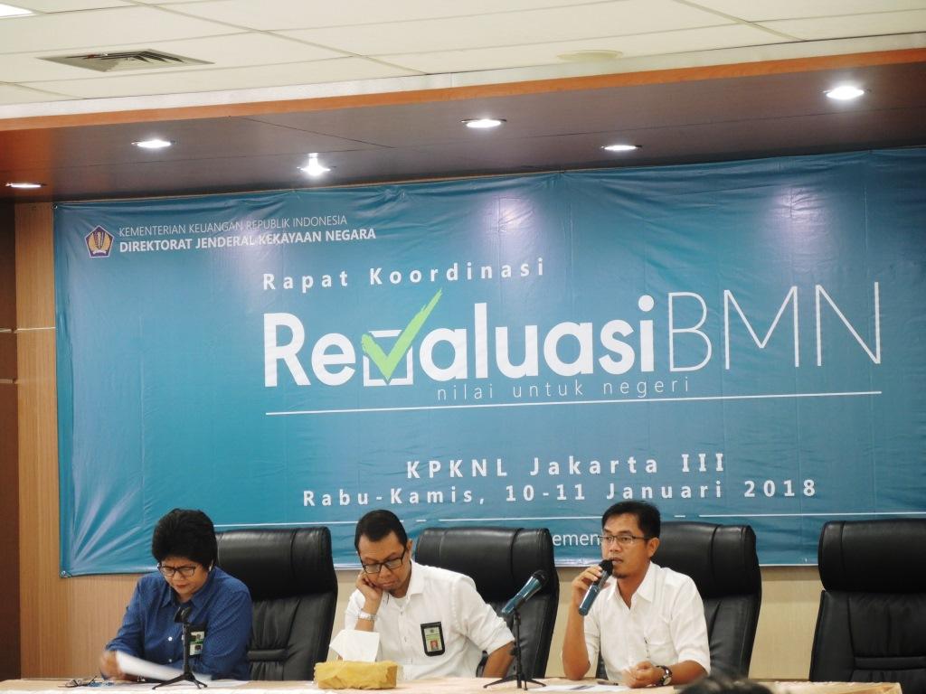 Demi Percepat Revaluasi BMN, KPKNL Jakarta III Adakan Sosialisasi & Bantuan Teknis