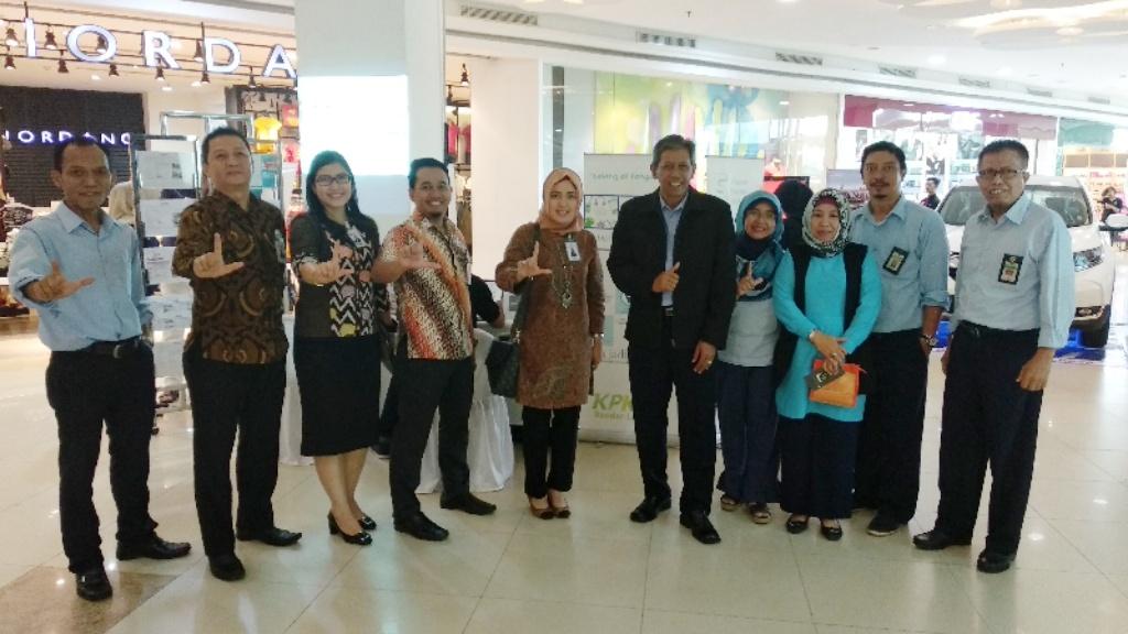 Menggaet Perbankan, KPKNL Bandar Lampung Adakan Mini Expo di Mall