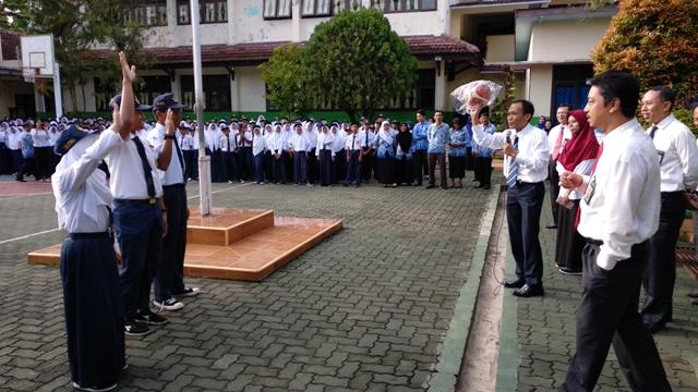 KPKNL Bandar Lampung Memperkenalkan Lelang Pada Siswa SMPN 3 Bandar Lampung