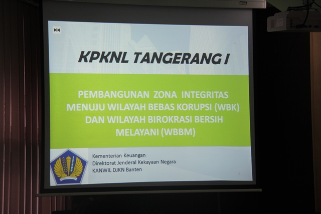 KPKNL Tangerang I Siap Menuju Kantor Dengan Predikat WBK – WBBM