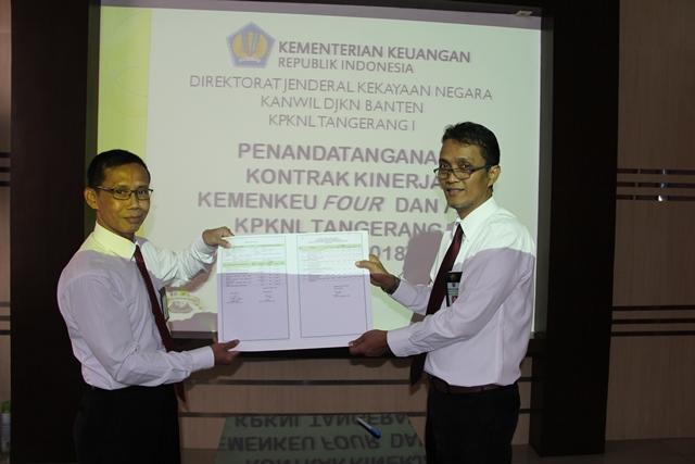Kepala KPKNL Tangerang I: Target 2018 Jadi Tantangan bagi Kita