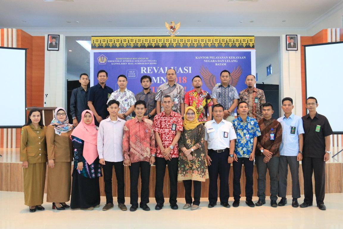KPKNL BATAM TABUH GENDERANG REVALUASI BMN 2018