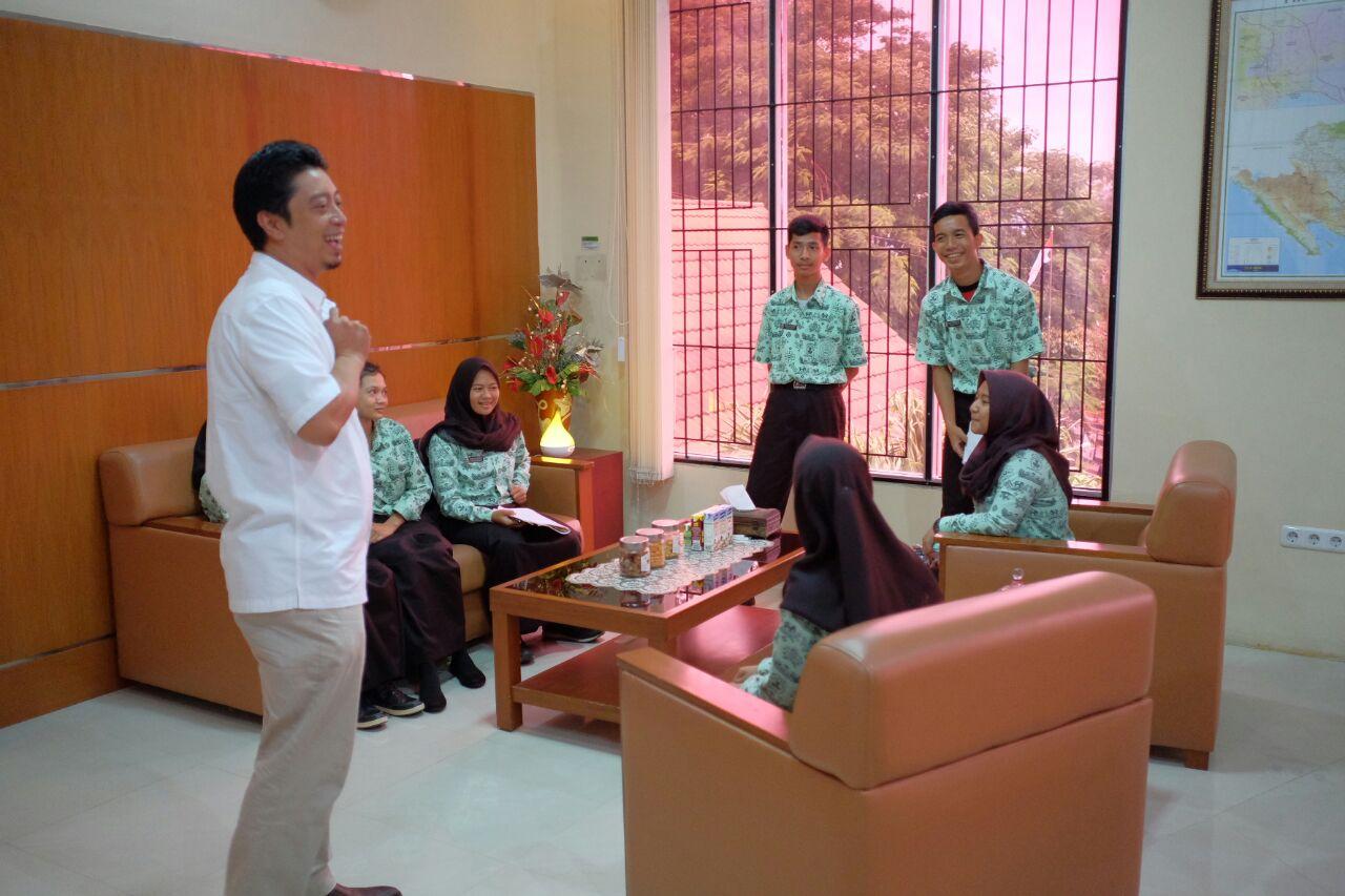KPKNL Bandar Lampung Menerima Kunjungan Visit DJKN