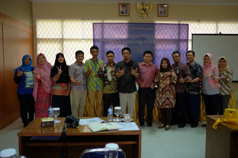 Belajar Jurnalistik Dari Wartawan Lampung Post