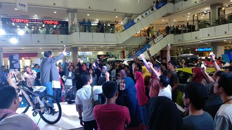 KPKNL Bandar Lampung Memperkenalkan Lelang di Mall dan CFD