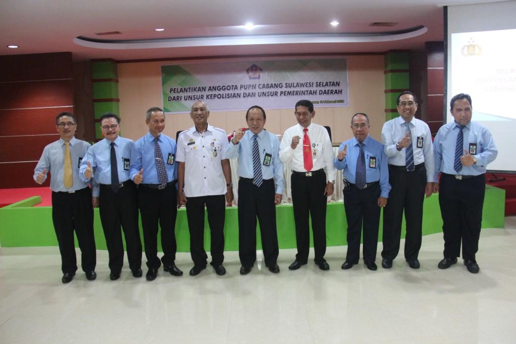 Pelantikan Anggota PUPN Cabang Sulawesi Selatan