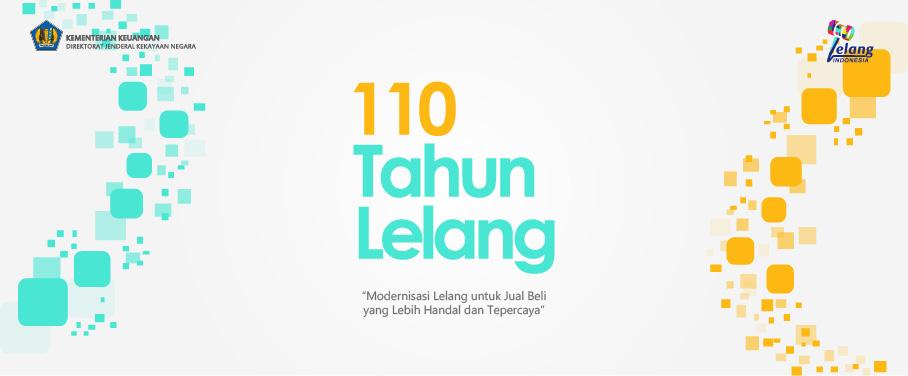 110 Tahun Lelang Indonesia
