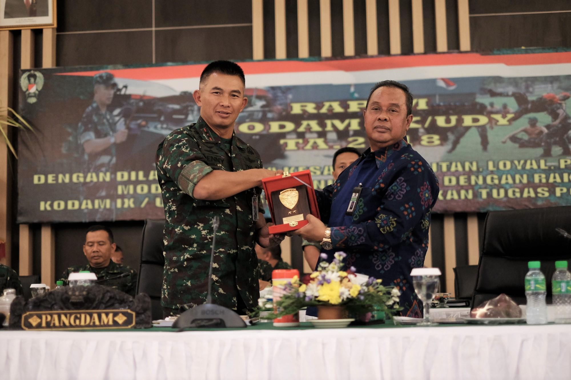 KEPALA KANWIL DJKN BALINUSRA BERIKAN PAPARAN DI RAPIM TNI