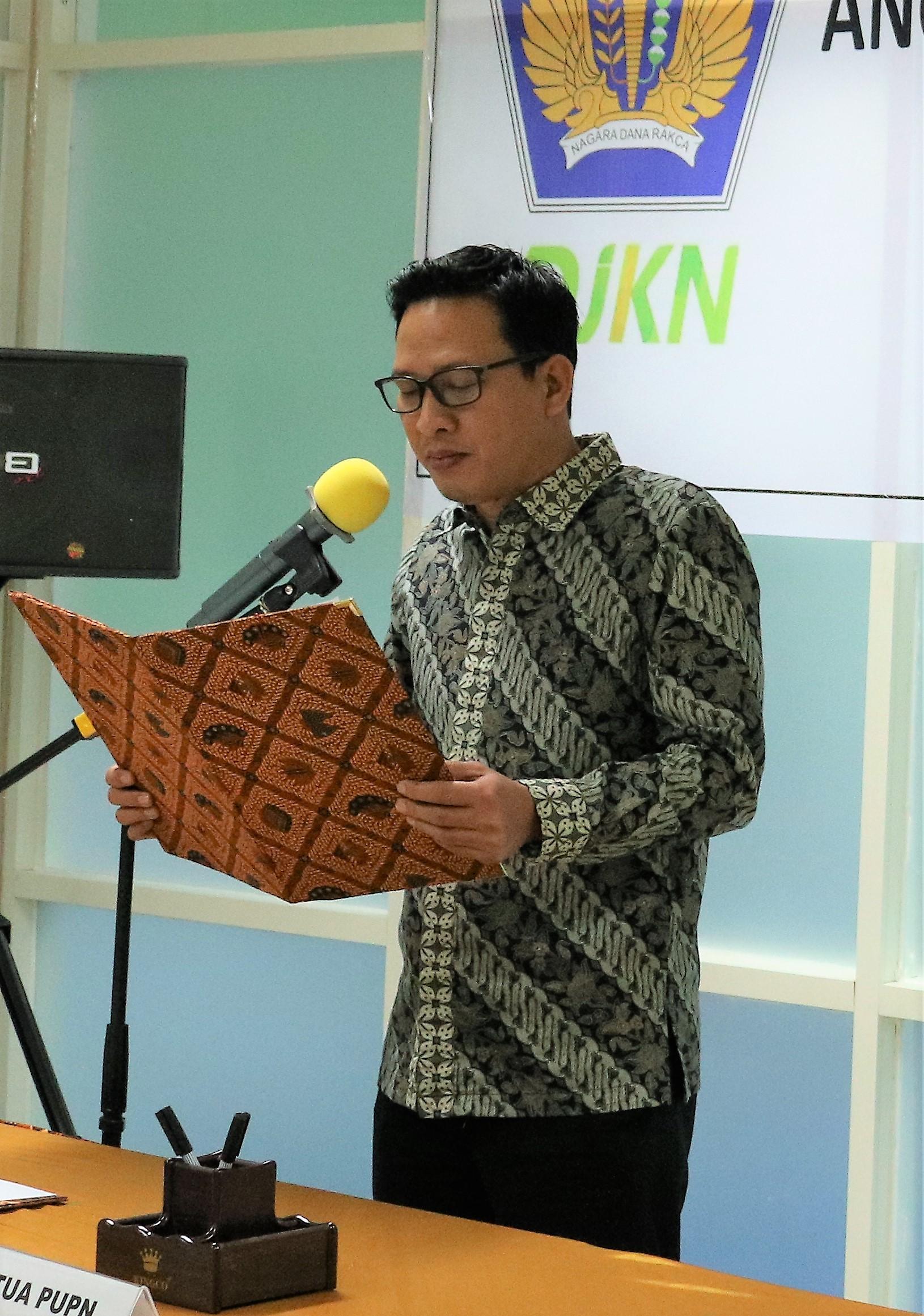 Anggota PUPN Resmi Dilantik, Akselerasi Pengurusan Piutang Negara di Mamuju Akan Lebih Meningkat
