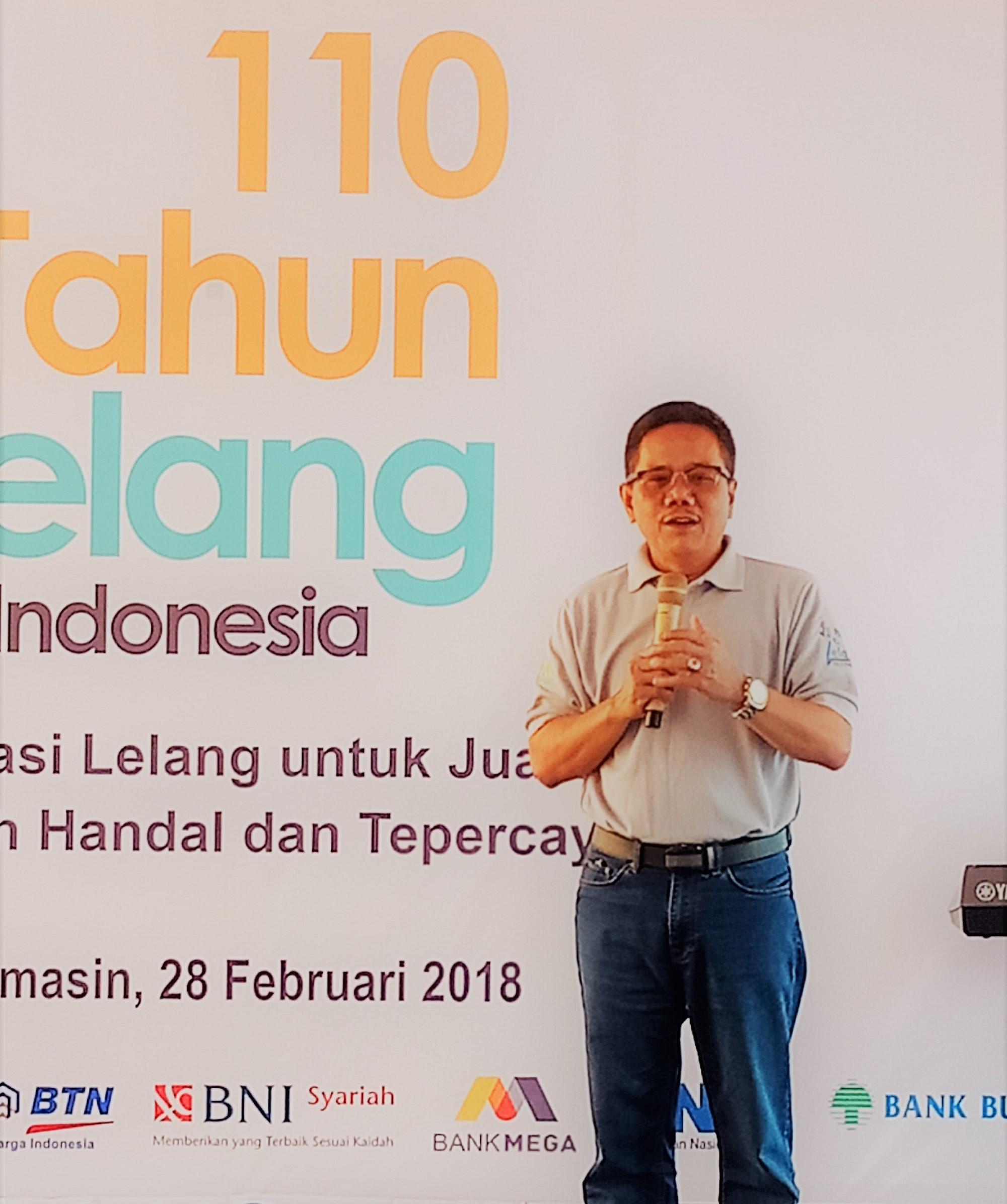 Semarak 110 tahun Lelang Indonesia di KPKNL Banjarmasin
