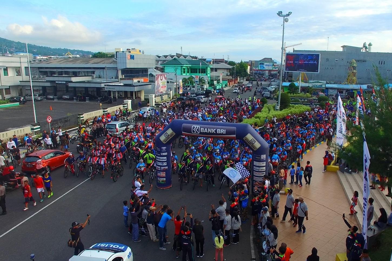 KPKNL Ternate Adakan Gowes Silaturahim untuk  Peringati 110 Tahun Lelang Indonesia