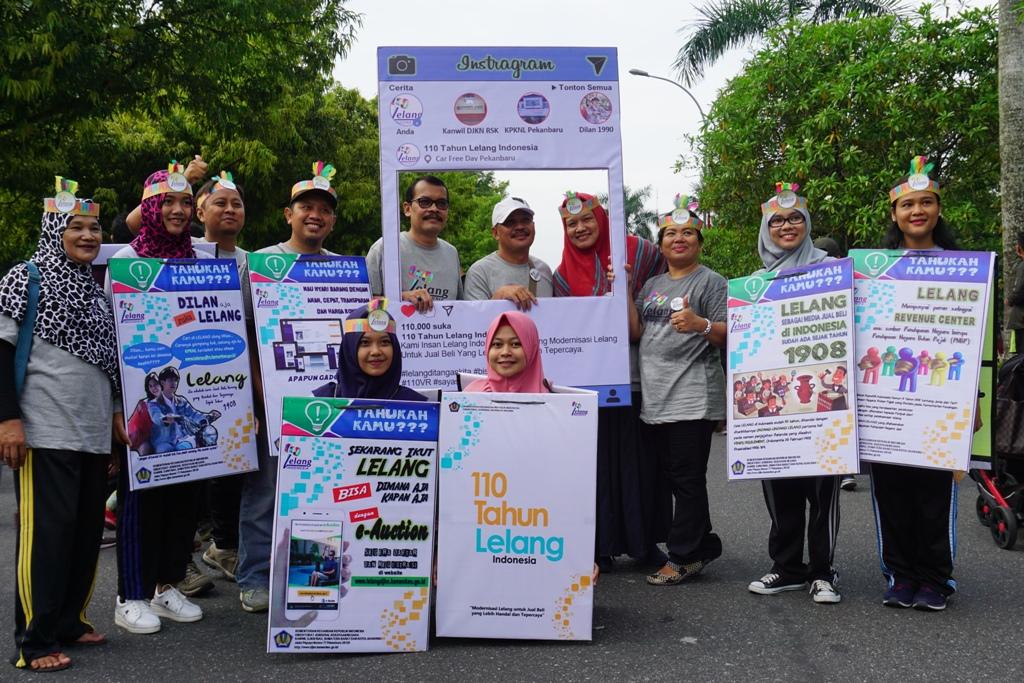 Kanwil DJKN Riau, Sumatera Barat, dan Kepulauan Riau: Semakin Memasyarakatkan Lelang dalam Pekan Lelang 2018