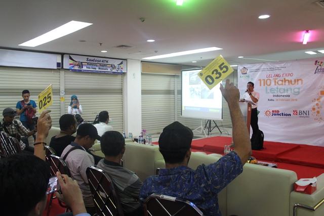 KPKNL Tangerang I Laksanakan Lelang Ekspo, Hasilnya Memuaskan