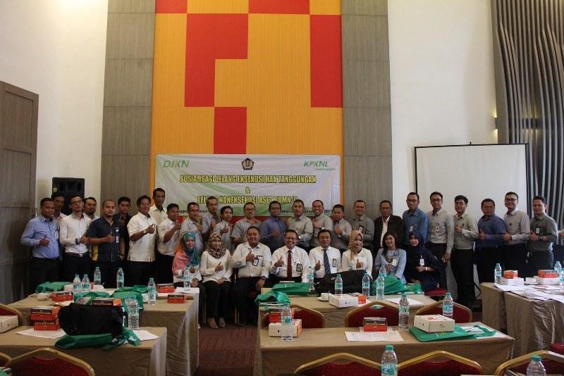 KPKNL Pamekasan Menggelar Sosialisasi Lelang dan Workshop Revaluasi BMN