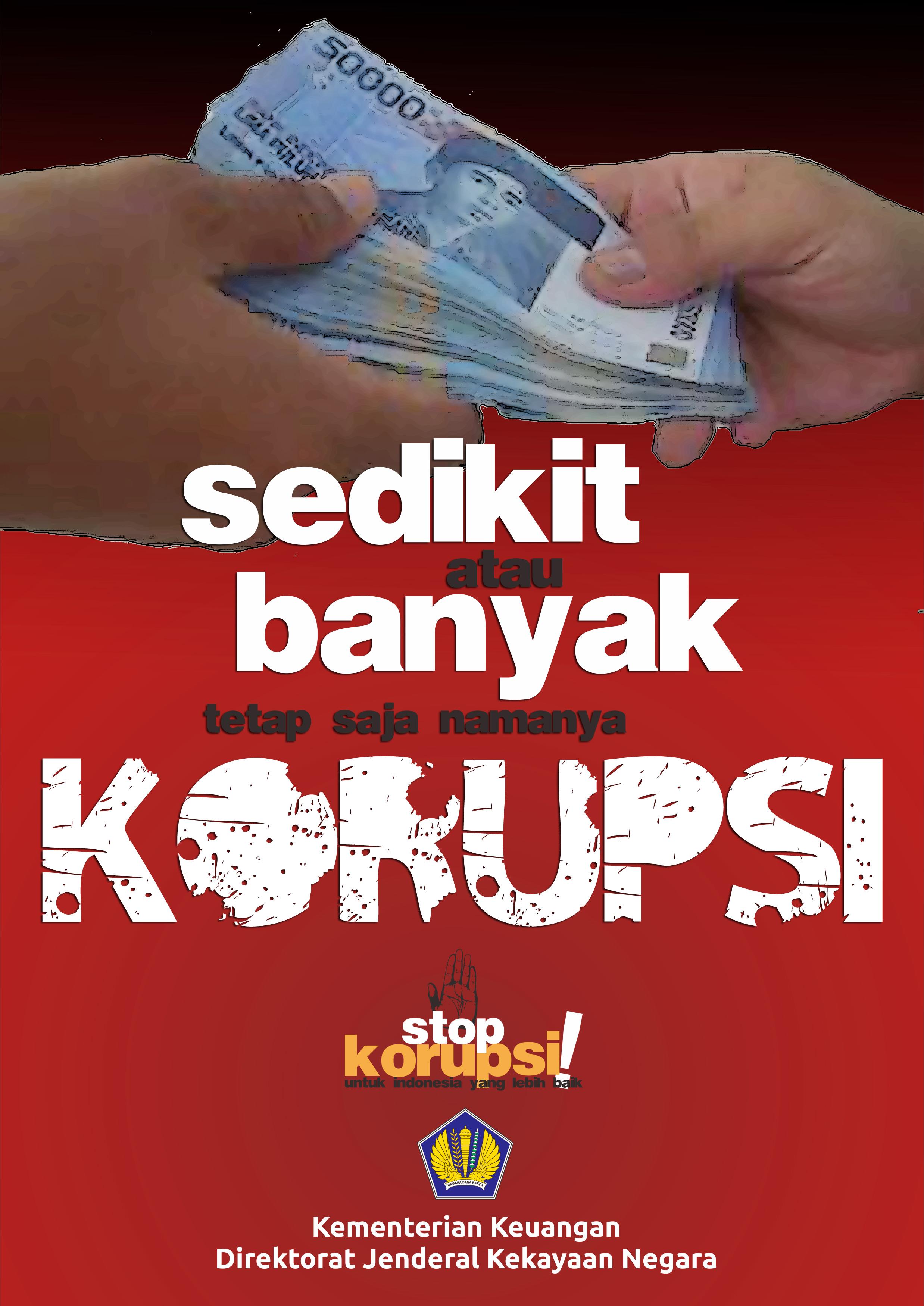STOP KORUPSI DAN GRATIFIKASI