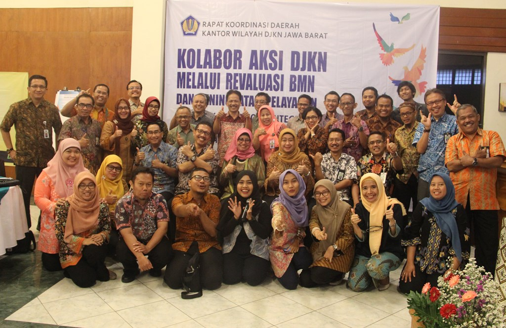 Rakorda Kanwil DJKN Jabar 2018: Kolabor Aksi Menuju Kantor ZI WBK/WBBM