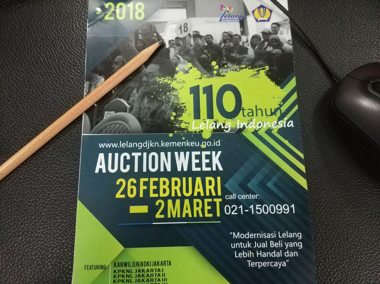 110 Tahun Lelang Indonesia - Tok! Lelang KPKNL Jakarta IV Habis Terjual
