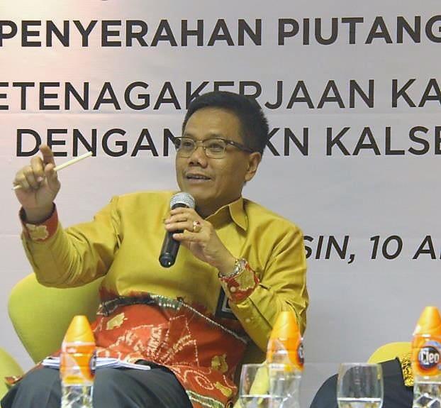 Perkuat Kualitas Pengurusan Piutang Negara, Kanwil DJKN Kalselteng Gelar Rapat Monitoring Bersama BPJS Ketenagakerjaan