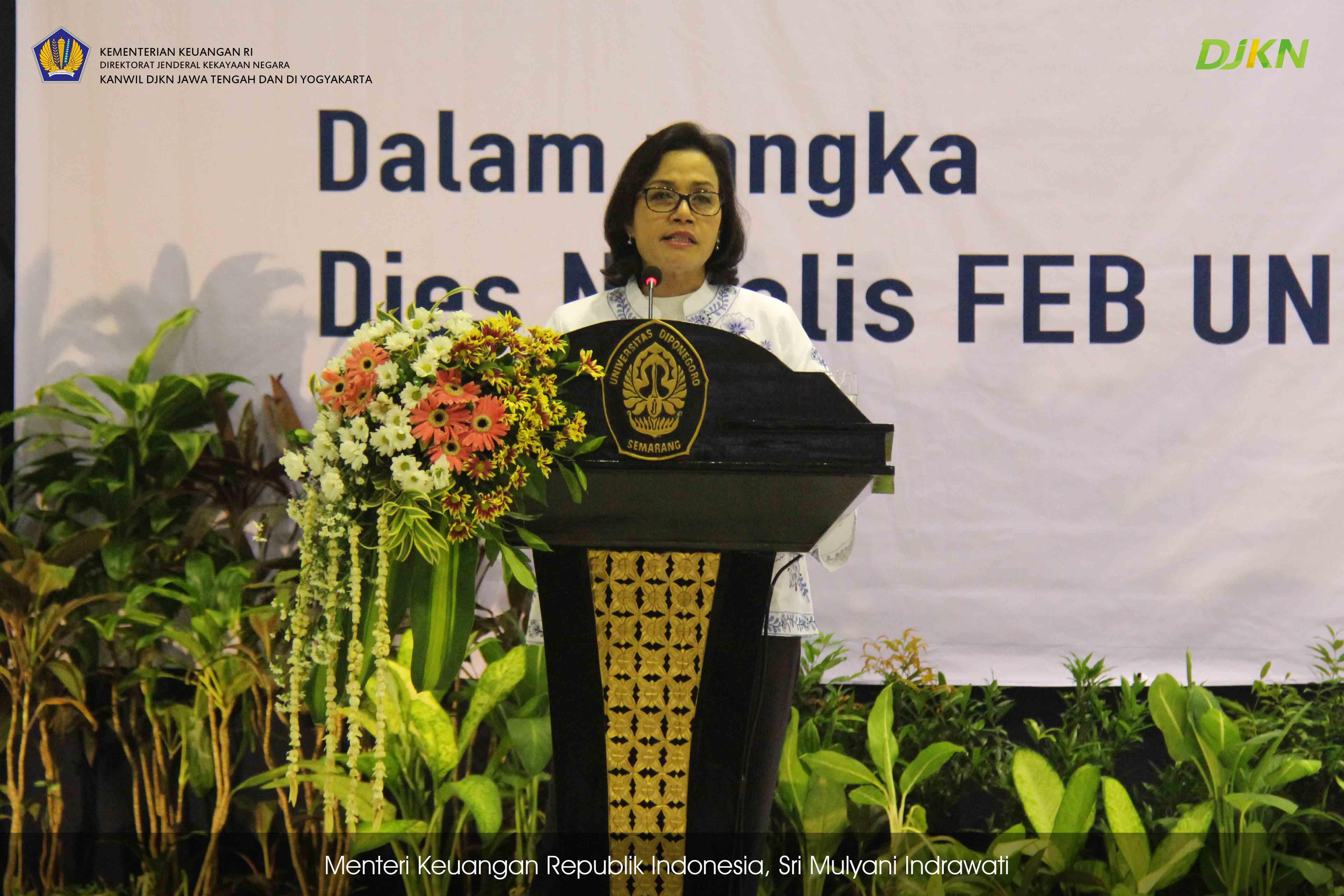 Menteri Keuangan Ajak Mahasiswa Berpikir Kritis