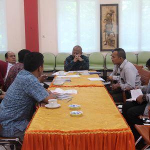Rapat Koordinasi Kepala Kanwil DJKN Jawa Timur dengan BPKAD wilayah KPKNL Jember