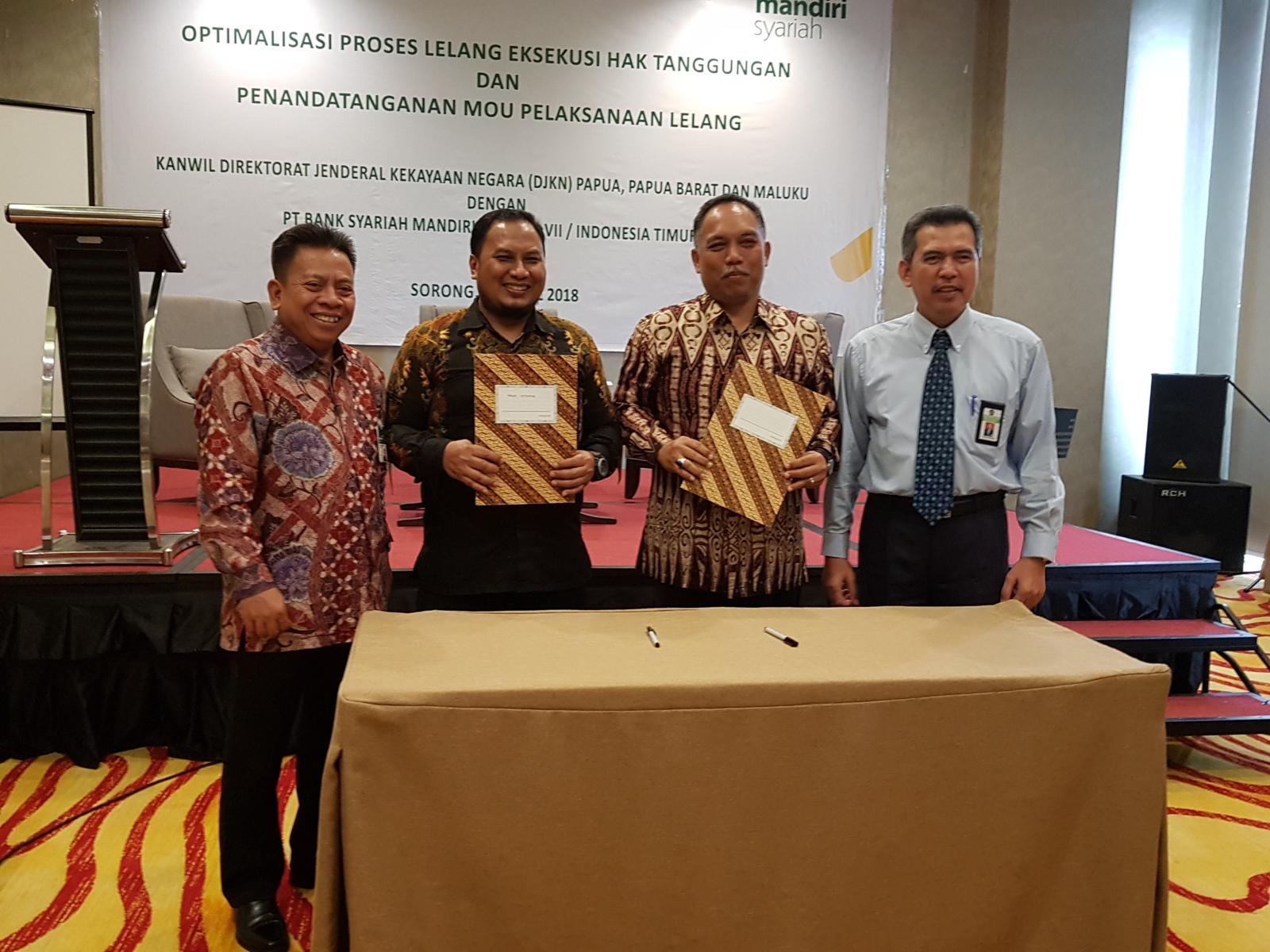 Amunisi Baru Kanwil DJKN Papua, Papua Barat dan Maluku Menggapai Target Kinerja Lelang tahun 2018
